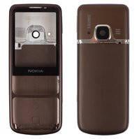 Корпус для мобильного телефона Nokia 6700c, high-copy, коричневый