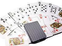 100% пластиковые игральные карты