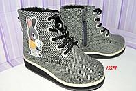 Новые ботинки фирмы H&M размер 29