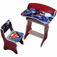 """Парта серии """"Супермен"""", красная, П020"""