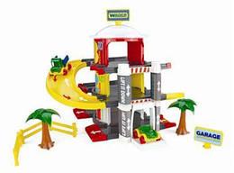 Игрушка гараж с лифтом, 3 уровня, 50310