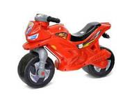 Мотоцикл 2-х колесный з сигналом, красный ОРІОН 501 в.3