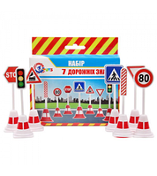 Набор дорожных знаков, 4357