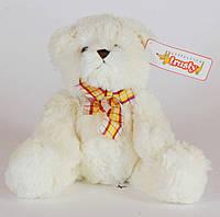 Мишка белый с бантом -- мягкая игрушка, 30 см, 18A0002