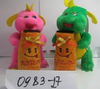 Мягкая игрушка Дракончик с мешком-копилкой, SP72177