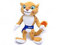 "Мягкая игрушка Леопард ""Олимпиада 2014г"", стоит, 29см, 0728-5"