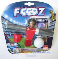 Набор для игры в футбол, 1 футболист, 1 мячик, карточки (Красный), 30410-GL
