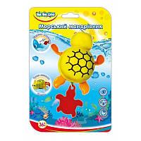 """Игрушка для ванной """"Морской путешественник-Черепашка""""; 3+;  57094"""
