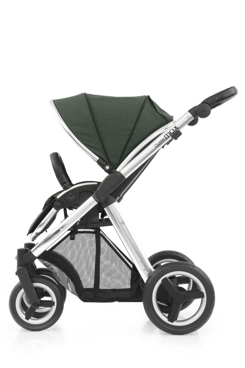 Прогулочная коляска «BabyStyle» Oyster Max (MAX2CHMIR/O2SUCPOG), цвет Olive Green / Mirror «BabyStyle» (MAX2CHMIR/O2SUCPOG)