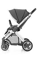 Прогулочная коляска «BabyStyle» Oyster 2 (O2CHMIR/O2SUCPTG), цвет Tungsten Grey / Mirror Black