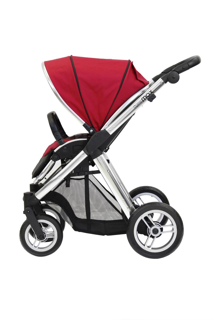 Прогулочная коляска «BabyStyle» Oyster Max (MAX2CHMIR/O2SUCPTO), цвет  Tomato / Mirror «BabyStyle» (MAX2CHMIR/O2SUCPTO)