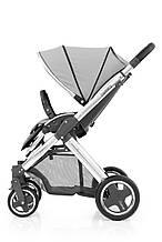 Прогулочная коляска «BabyStyle» Oyster 2 (O2CHMIR/O2SUCPPS), цвет Pure Silver / Mirror Black