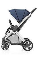 Прогулочная коляска «BabyStyle» Oyster 2 (O2CHMIR/O2SUCPOB), цвет Oxford Blue / Mirror Black