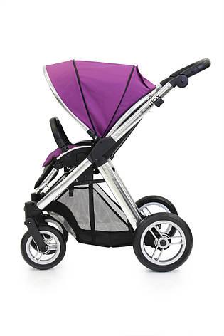Прогулочная коляска «BabyStyle» Oyster Max (MAX2CHMIR/O2SUCPGR), цвет  Grape / Mirror «BabyStyle» (MAX2CHMIR/O2SUCPGR), фото 2