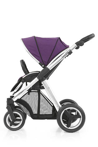 Прогулочная коляска «BabyStyle» Oyster Max (MAX2CHMIR/O2SUCPWPU), цвет  Wild Purple / Mirror «BabyStyle» (MAX2CHMIR/O2SUCPWPU), фото 2