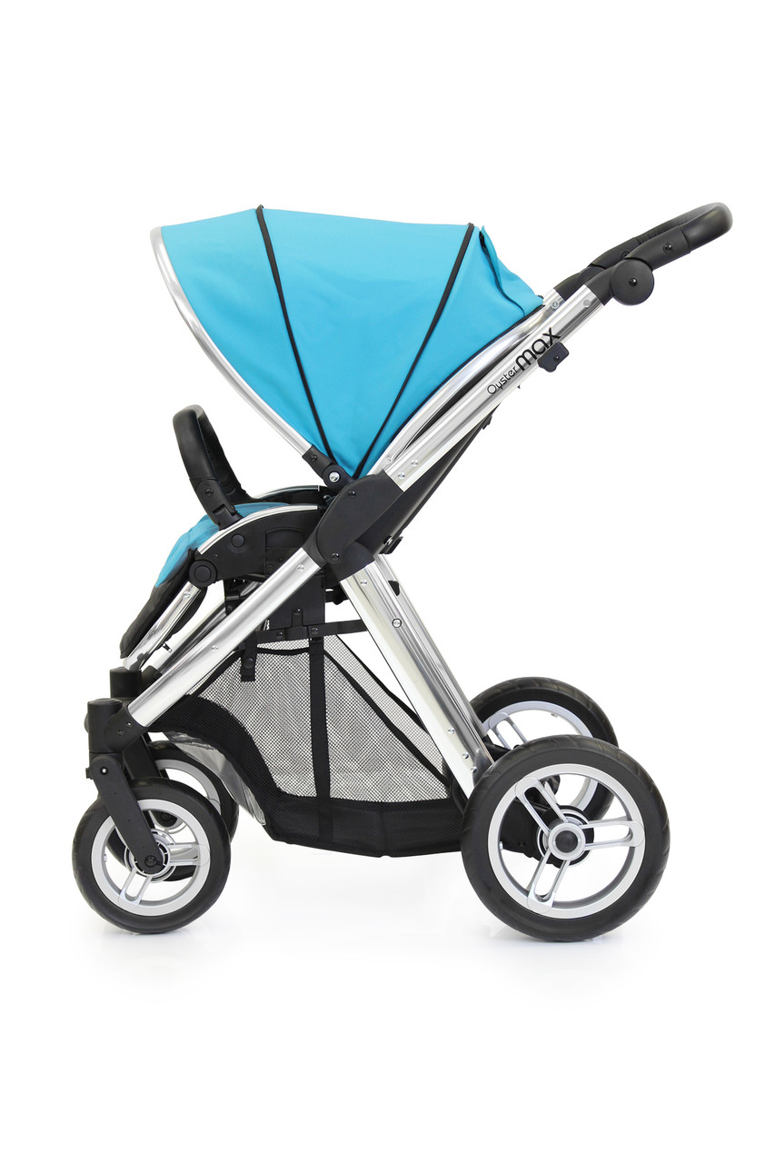 Прогулочная коляска «BabyStyle» Oyster Max (MAX2CHMIR/O2SUCPOC), цвет Ocean / Mirror «BabyStyle» (MAX2CHMIR/O2SUCPOC)