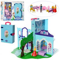 Замок для кукол Frozen в книге-чемодане, LM2348