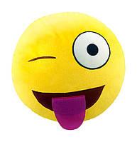 """Антистрессовая игрушка мягконабивная """"SOFT TOYS """"Смайлик"""" с языком, DT-ST-01-17"""