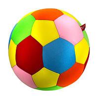 """Антистрессовая игрушка мягконабивная """"SOFT TOYS """"Футбольный мяч"""" цветной, DT-ST-01-08"""
