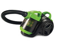 Пылесос Delfa DJC 900: «сухая» уборка, 1600 Вт, НЕРА фильтр, без мешка для сбора пыли