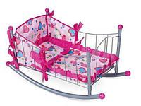 Кроватка для кукол металлическая, SPL247303