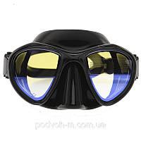 Маска для подводной охоты и дайвинга Marlin Hunter просветленные стекла