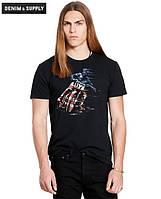 Мужская футболка Polo Ralph Lauren - Black American Rider
