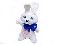 "Мягкая игрушка Заяц  ""Олимпиада 2014 г"" (сам стоит, 12 шт/в пакете 30 см), 0728-4"