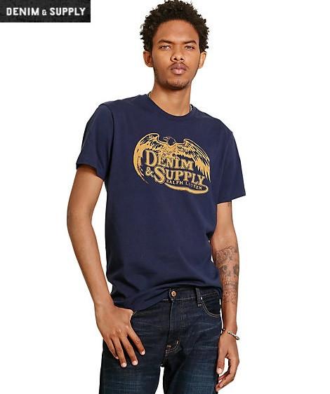 Мужская футболка Ralph Lauren - Classic Navy