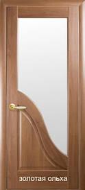 """Дверное полотно Амата со сткелом пвх """"De Luxe"""""""
