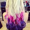 Мел для окрашивания волос 6 шт набор мелки тиара Виктория мелки цветные для волос цветные, фото 6