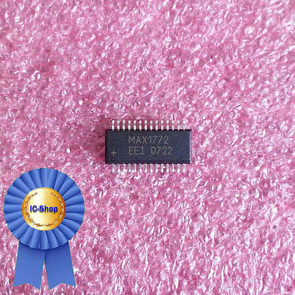 Микросхема MAX1772EEI ( MAX1772 ), фото 2