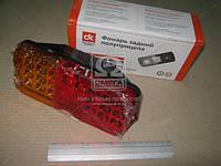 Фонарь задний УАЗ ДК светодиод  пластмасс 4 болтика