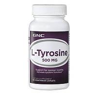 GNC L-TYROSINE 500, 60 caplets