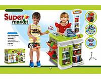 Детский набор 668В-1 Супермаркет с корзиной и аксессуарами
