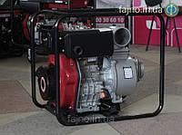 Дизельная мотопомпа Weima CGZ100-30 (12 л.с., 120 куб.м/час)., 100 мм, фото 1