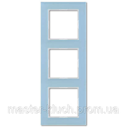 Рамка тройная Jung A-creation стекло