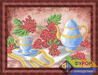 Схема для вышивки бисером - Натюрморт с калиной, Арт. НБч3-114