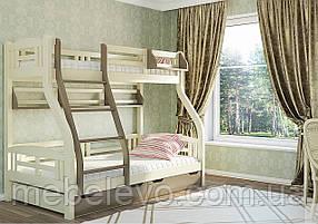 Кровать двухъярусная Светлана   80(120)х200 Венгер