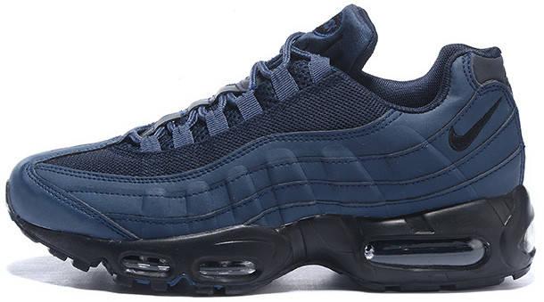 Мужские кроссовки Nike Air Max 95 'Obsidian & Black', найк, фото 2