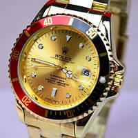 Кварцевые наручные часы Rolex Submariner Gold R6147, фото 1