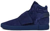 Мужские кроссовки Adidas Tubular Invader Strap Blue, адидас