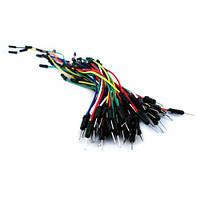65 х Соединительные провода, джамперы для макетов