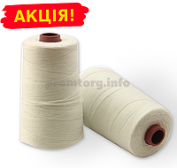 Нитки для прошивки упаковочных полипропиленовых мешков