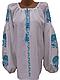 "Жіноча вишита сорочка (блузка) ""Негбі"" (Женская вышитая рубашка (блузка) ""Негби"") BN-0083, фото 2"