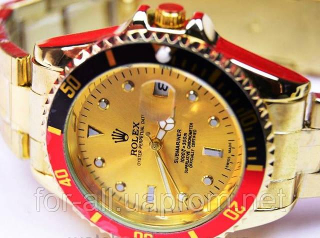 Кварцевые наручные часы Rolex Submariner Gold R6147 в интернет-магазине Модная покупка