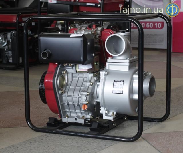 Дизельная мотопомпа Weima CGZ100-30 фото 6