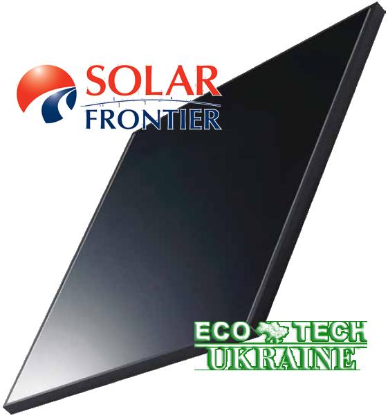 Solar Frontier SF165-S тонкопленочная солнечная панель (батарея, фотомодуль) - ECO TECH UKRAINE солнечная энергетика, энергоэффективные технологии. Продажа, строительство, сервис. в Кривом Роге