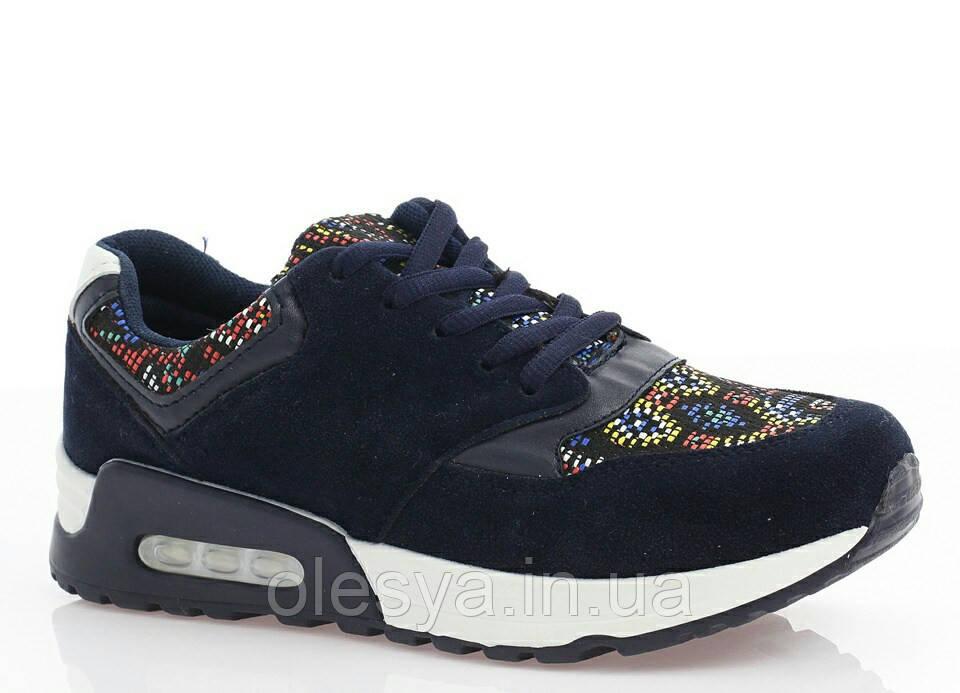 Женские кроссовки синие Замш размеры 36- 41 Польша  продажа, цена в ... 617198dcb6f
