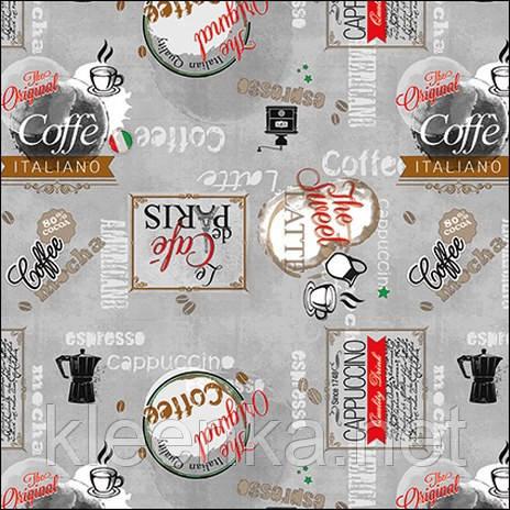 Клеенка на кухонный стол Кофе итальяно! очень эффектно смотрится!!!, фото 2